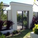 """An example of our """"Tubular Fencing Horizontal Ranch"""" Secure A Fence Perth Australia."""