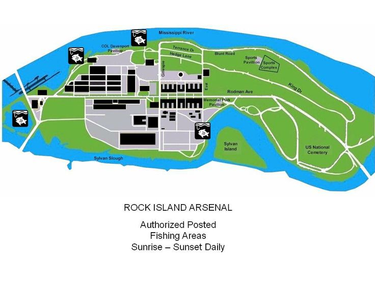 87 best rock island arsenal images on pinterest arsenal for Illinois fishing regulations