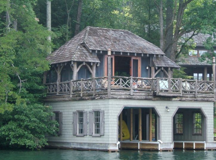 Boat House Lake Rabun Love The Railings And Posts