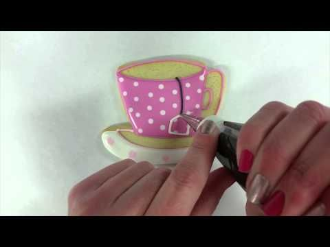 Flour Box Bakery — My First Cookie - The Teacup! (and a quick-look video!)