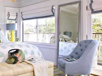 Curtain Ideas for the bedroom   Margaret Hirsch