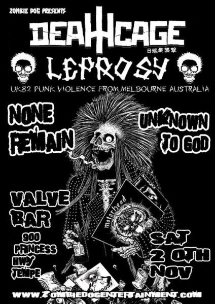 utg with leprosy deathcage and none remain