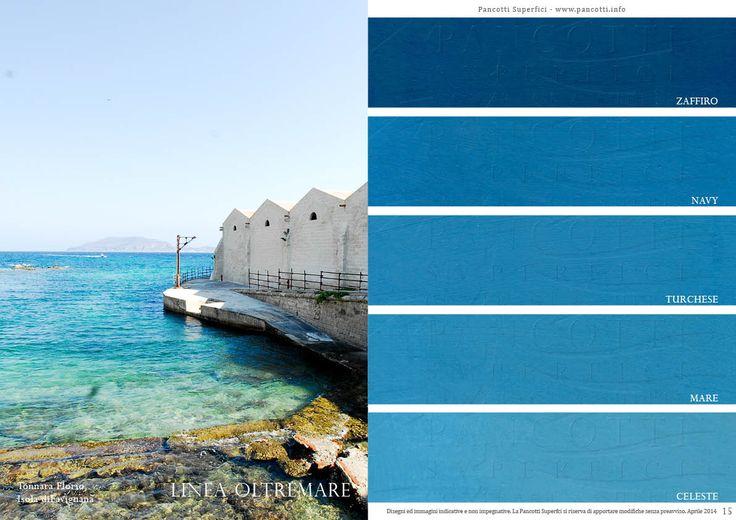 Linea Oltremare | #pavimenti e #rivestimenti | #blu