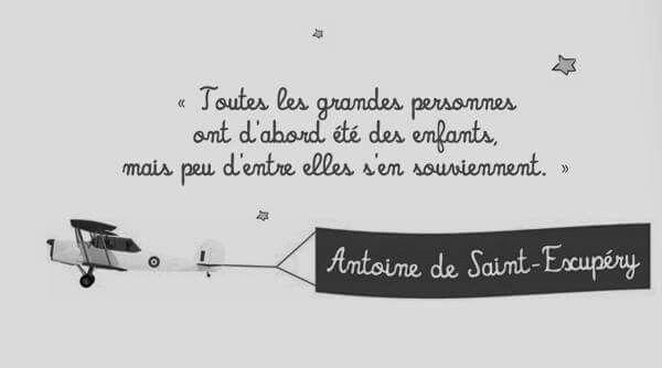 Le petit prince d Antoine de St Exupery