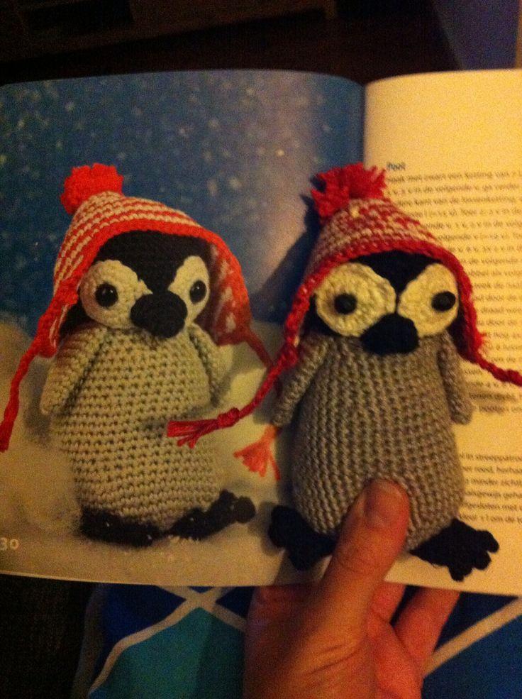 Gehaakte Pinguïn