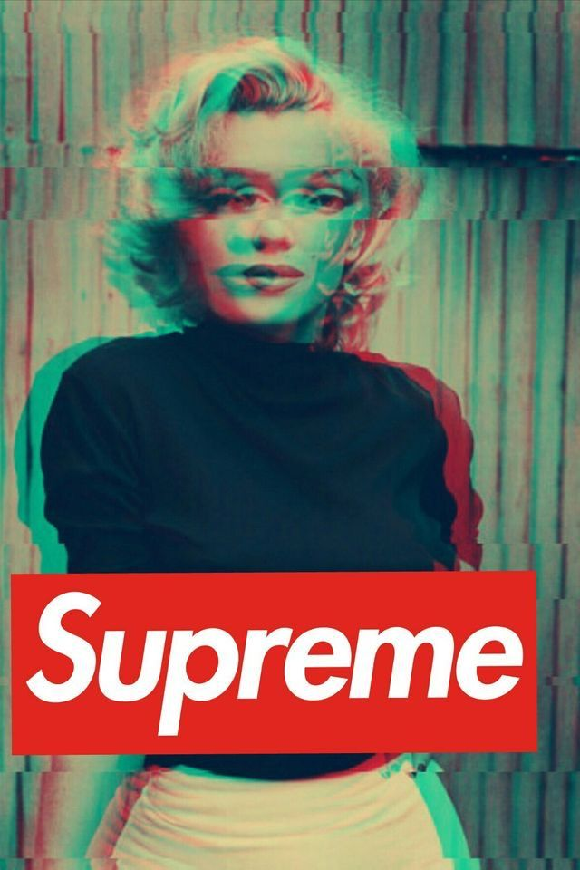 Pin By Kemely Perez On Marilyn Monroe Supreme Iphone Wallpaper