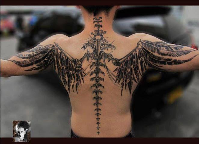 anatomically correct wings
