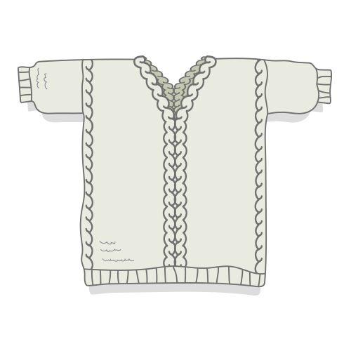 Fiche technique en français permettant de tricoter Joseph, pull alliant point mousse et torsades, avec explications détaillées et schéma pour les dimensions.Niveau de tricot débutant avancé ou intermédiaire. Tricot à plat pour le corps du pull, possibilité de tricoter les manches à plat ou en circulaire.Seule la bordure en côtes du bas du pull se fait en circulaire (ne pas avoir peur de se lancer!!!)Trois tailles proposées : S - (M/L) - XLFil conseillé : l...