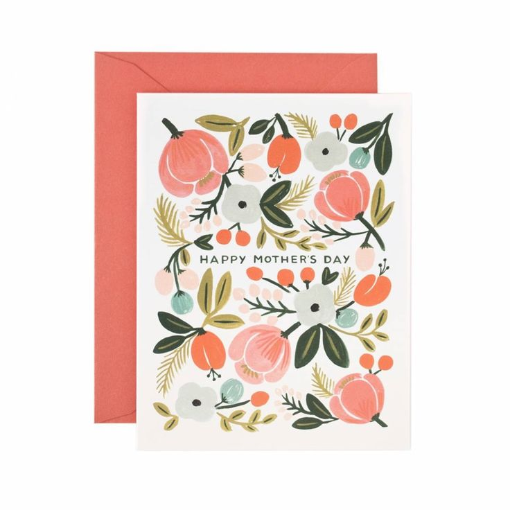 Card Blooming Mother's Day / Carte Happy Mother's day Buk&Nola