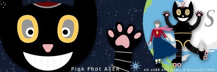 Pink Foot Ater~~ :D