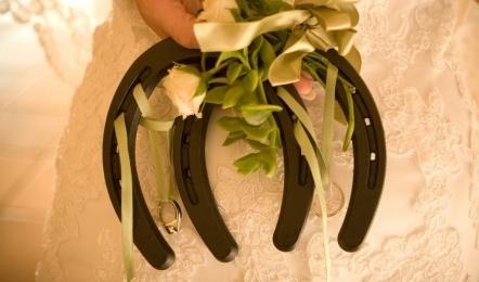 Horseshoe Wedding Bouquet