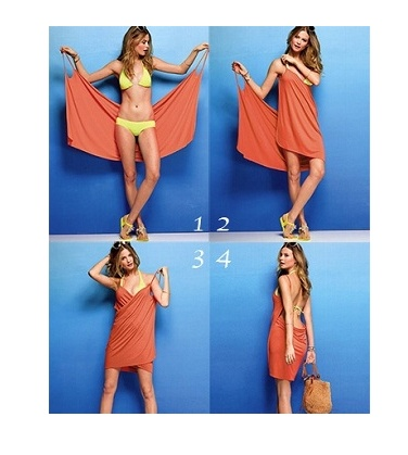 Bikini Wrap Dress - 10 Colors Available  - Save 63% Just $15.00