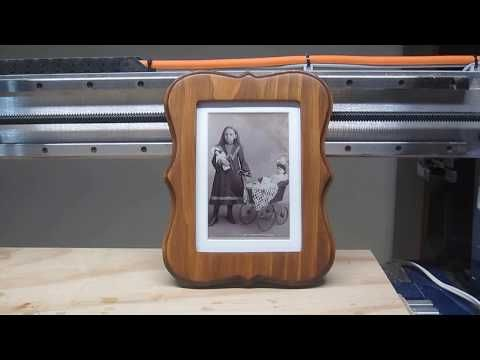 CNC Router Projects: Start to Finish- One-Piece 5×7 Photo Frame – YouTube – woodworking projects