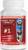 Beard Growther Vitamins - (For Quick Beard Growing), 90 tablets. >>> You can find out more details at the link of the image.