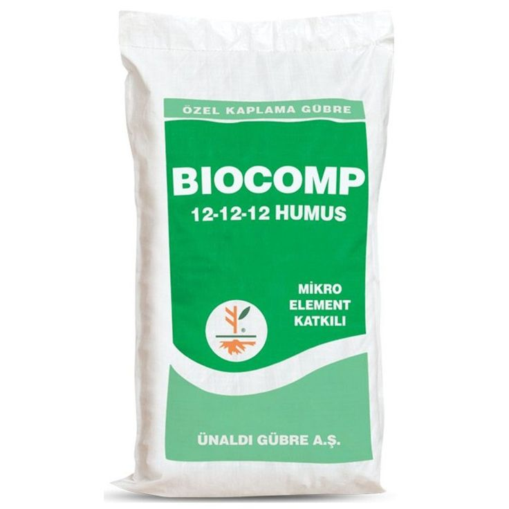 Biocomp 12-12-12 Organomineral Gübre 2.5 KG