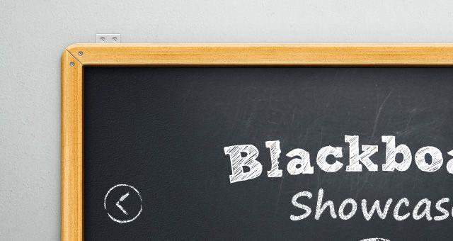 PSD Blackboard Showcase Slider