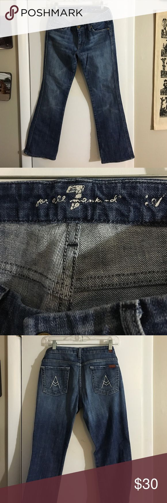 7 for all man kind boot cut jeans Denim bootcut jeans 7 For All Mankind Jeans Boot Cut