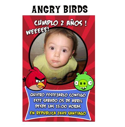 diseño angry bird
