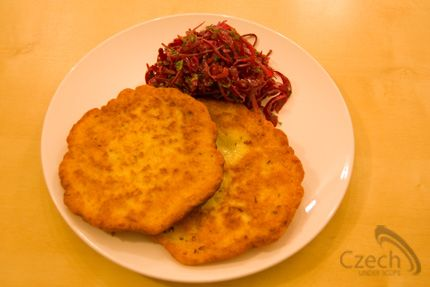 Bramborak (Potato Pancake) is a Czech traditional family dish.