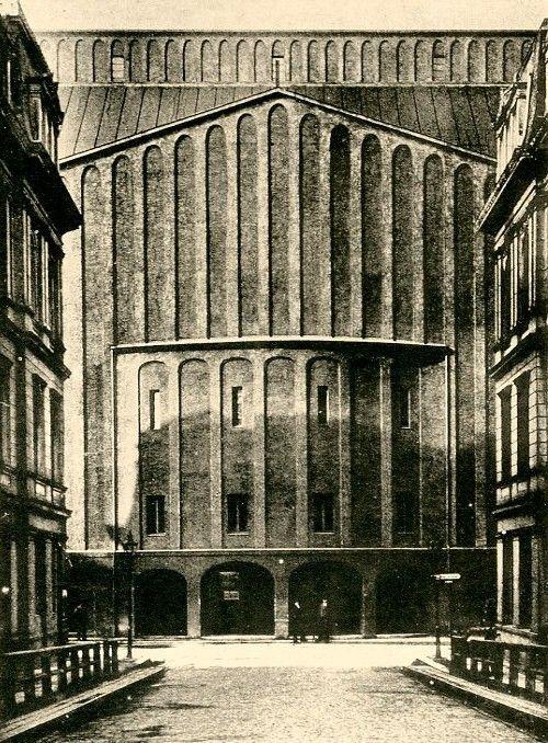 Schauspielhaus, Berlin, Germany, Arch. Hans Poelzig