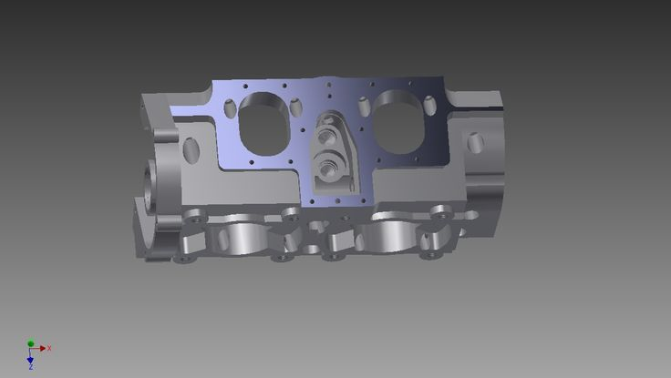 ROTARY VALVE AND CRANKSHAFT HOUSING-1