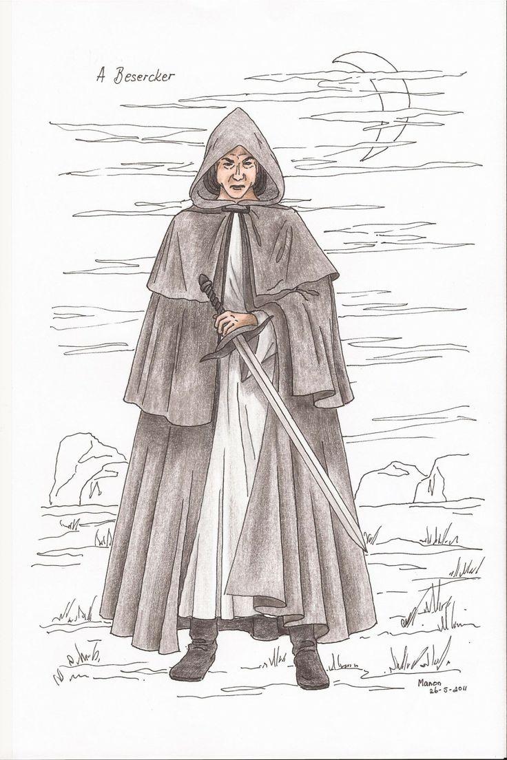 A Bezercker, from the book SIRION by Ivano Massari, http://www.gypsyshadow.com/IvanoMassari.html#top