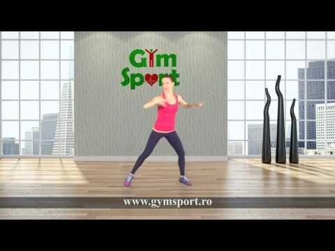 10 minute de exercitii cardio - YouTube