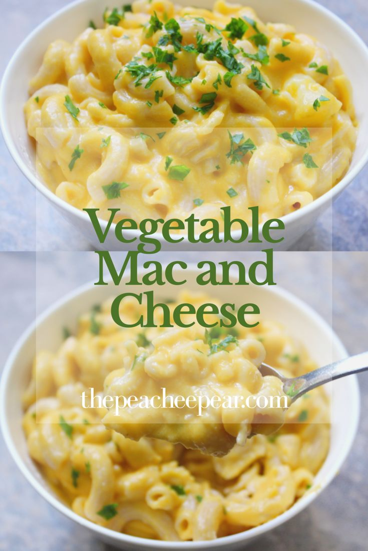 This is the easiest, creamiest and healthiest Mac and Cheese you will ever have. It's made with hidden veggies perfect for picky eaters! Check recipe out! via @ThePeacheePear