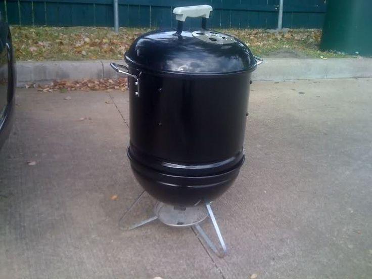 Mini Smokey Joe Smoker - Grills and Smokers - The Hot Pepper