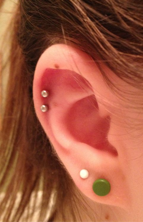 Fix up ear piercing combinations! | Ink + Iron | Pinterest ...
