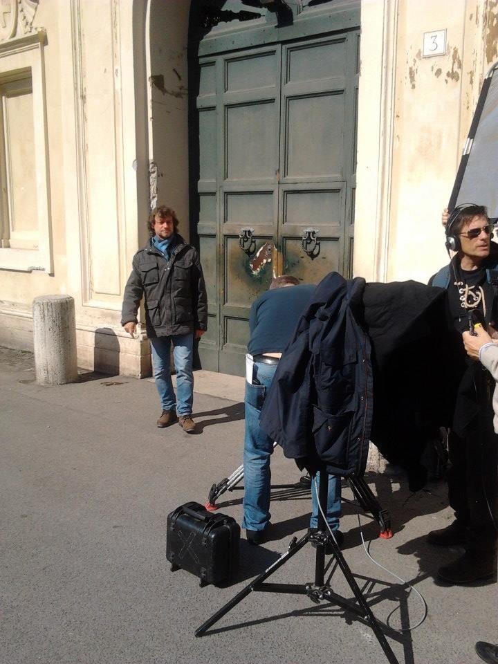 Alberto Angela is recording the next episode of this TV program inside Villa Malta. http://on.fb.me/1nrElz3