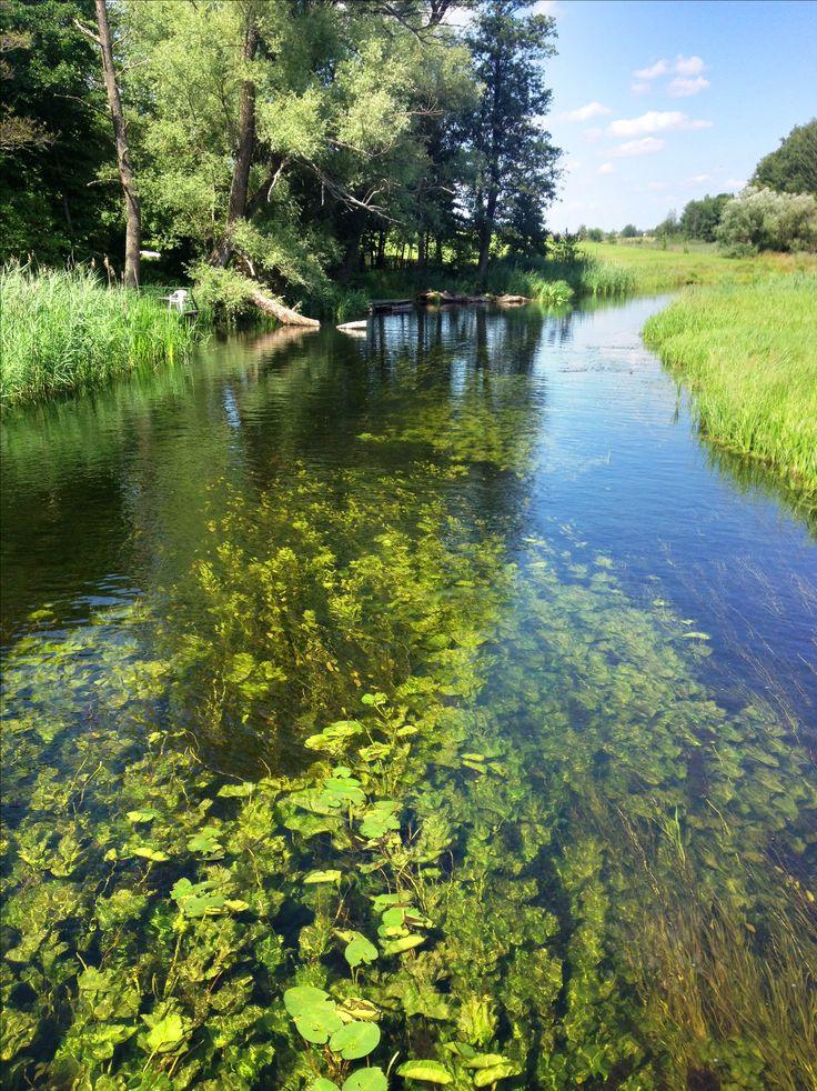 Krutynia River in Wojnowo