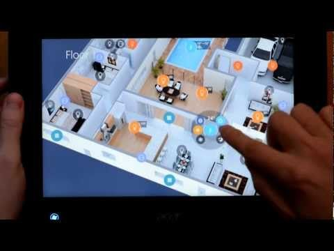 neoHome Smart Home. Windows 8 Client demo. - YouTube