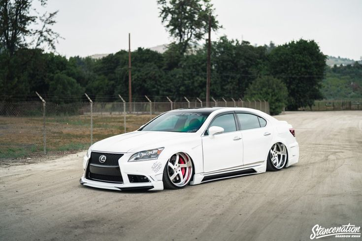 …Levels To This // Tony McQueen's Lexus LS460.