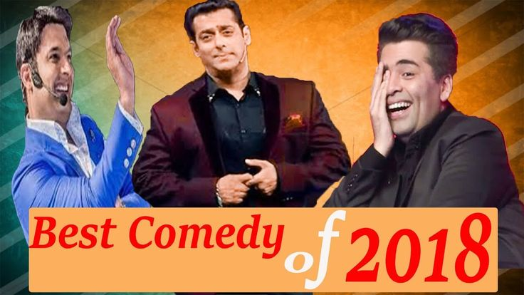 Salman Khan Best Comedy with Karan Johar | Kapil Sharma | Filmfare 2018 |