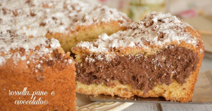 La torta al cocco morbida e che si scioglie in bocca perfetta per le piu' golose colazioni e merende da preparare per ogni occasione.