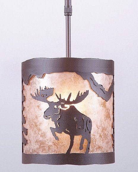 Kincaid Alaska Moose Mini Pendant