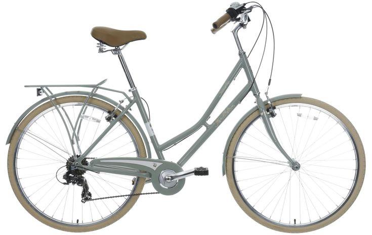 Pendleton Somerby Hybrid Bike - Green Grey