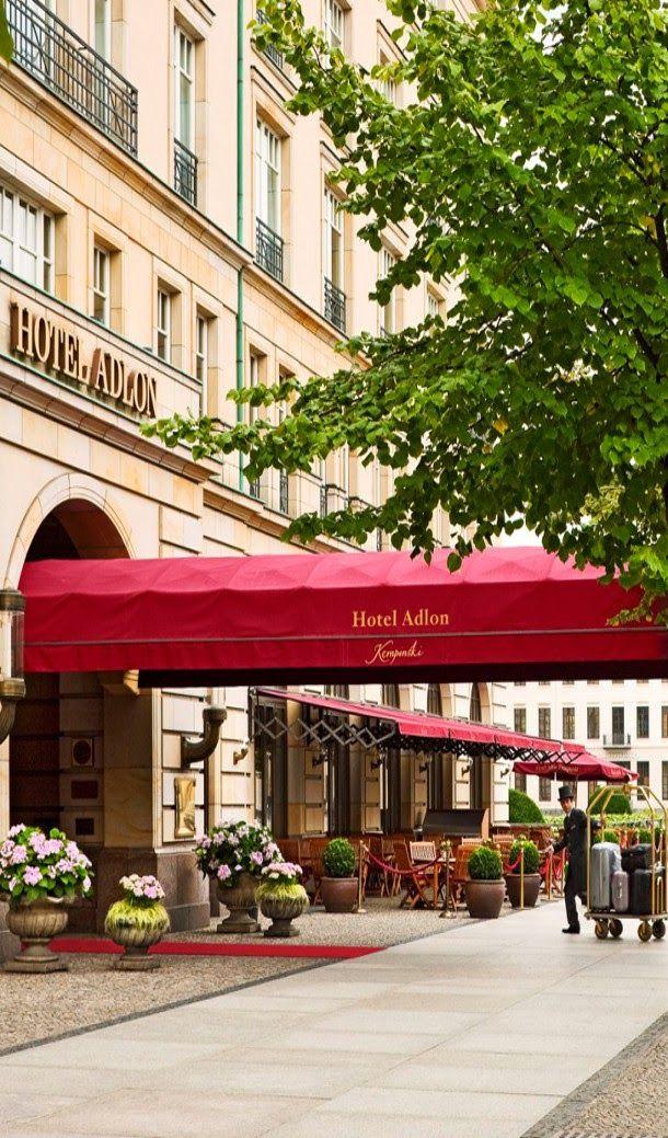 Brilliant Luxury * Entrance @ Adlon Kempinski Hotel Berlin, Germany