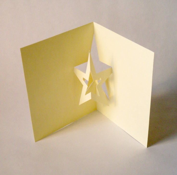 Star Pop Up Card.