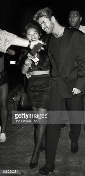 George Michael during Goerge Michael Sighting at Nell's in New York City August 16 1988 at Nell's in New York City New York United States