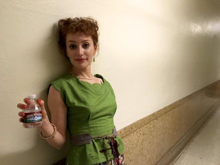 """NEW BTS Pic of Lotte Verbeek on set of """"Agent Carter""""   Outlander Online"""