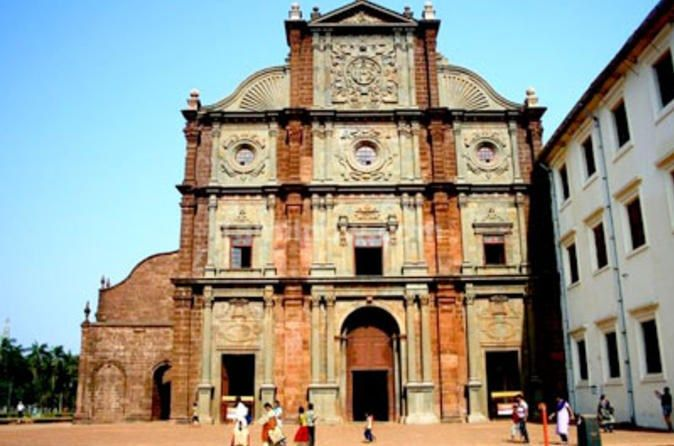 Private Portuguese Heritage Tour: Se Cathedral, Basilica of Bom Jesus and Dona Paula Beach in Goa   #PrivateTours #CityTours #Thingstodo #Activities #Tours #Goa #India #PortugueseHeritage