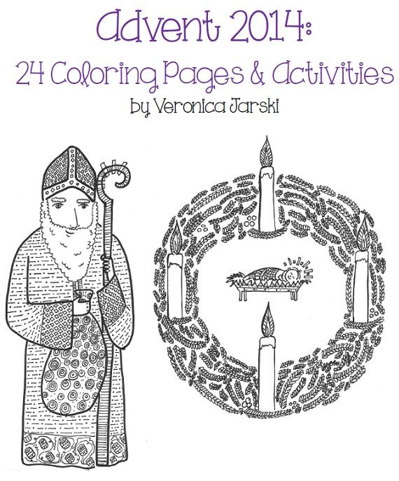 kids coloring pages for advent - photo#24
