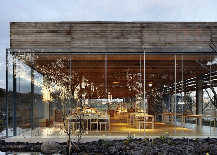 O'sulloc tea museum à Jeju Island par Mass studies