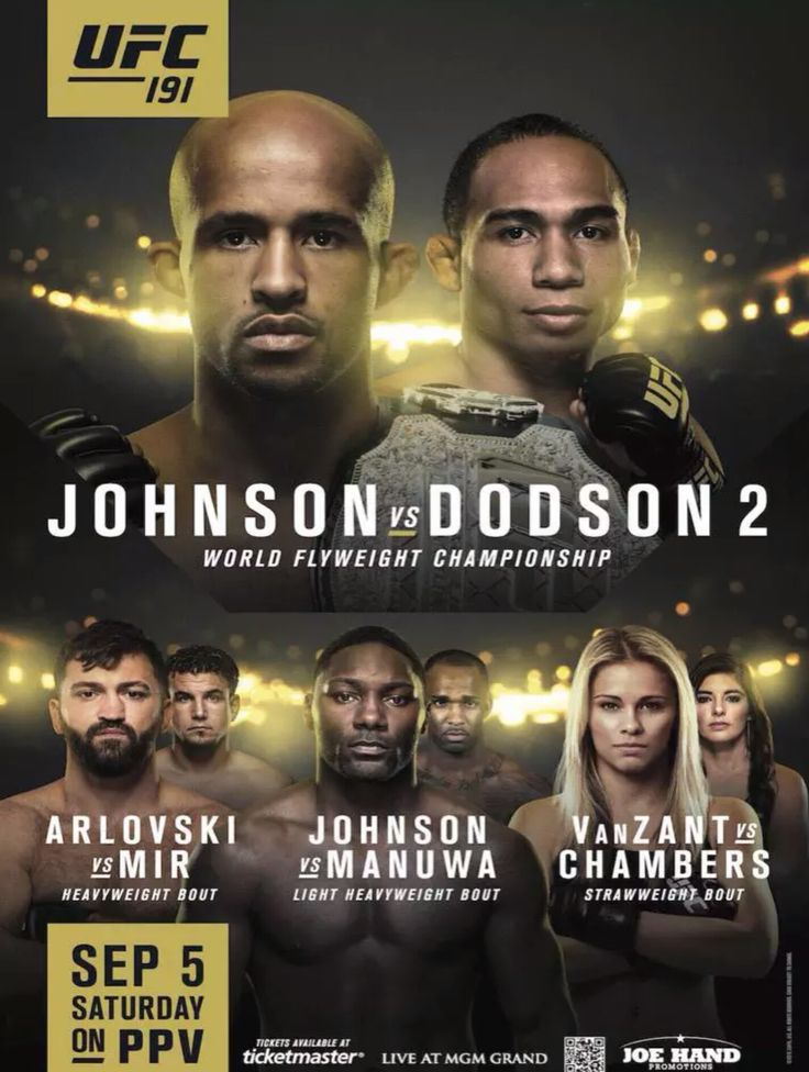 Demetrious Mighty Mouse Johnson vs John The Magician Dodson 2 fight card promo : if you love #MMA, you'll love the #UFC & #MixedMartialArts inspired fashion at CageCult: http://cagecult.com/mma