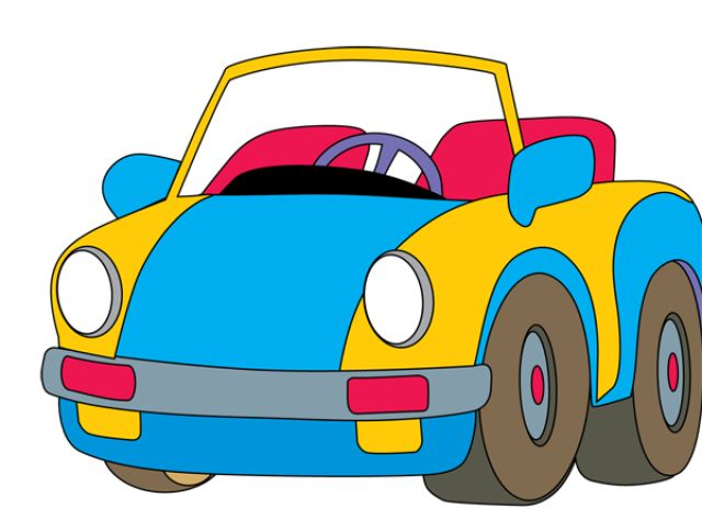 Toys, Toys And More Toys: Clip Art of a Toy Car