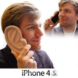 Capa para iPhone em forma de Orelha