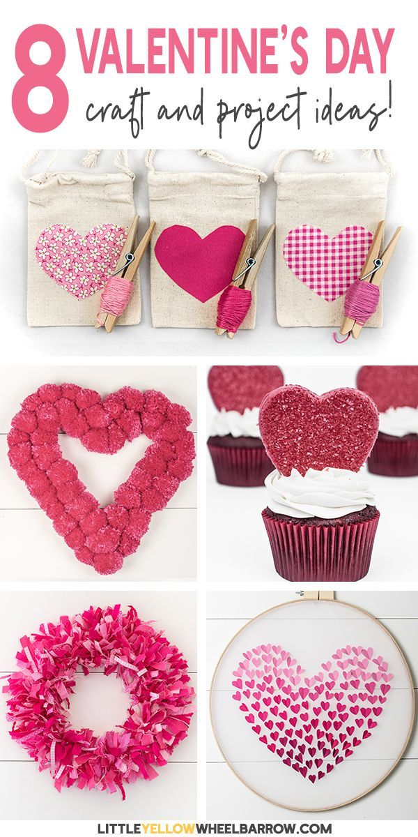 Valentine S Day Diy And Craft Projects Anyone Can Make Easy Craft