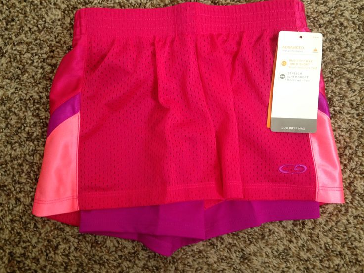 C9 by Champion - Sports Shorts (Bought Two) A. Target - $14.99 B. None C. My daughter needed some new shorts for her fall soccer league.